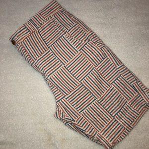 Brooks Brothers Seersucker Patchwork Shorts